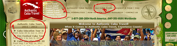 How to Book a Cuba Escorted Tour with Authentic Cuba Travel®.