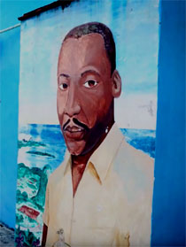 Support for the Cuban People activities at the Martin Luther King Center.